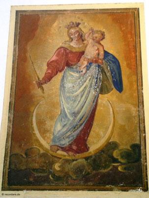 Wandgemälde Himmelskönigin
