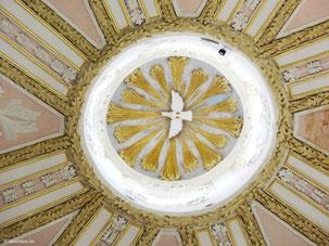 Heiliger Geist, Mittelpunkt der Kuppel, Mariahilf, Freystadt