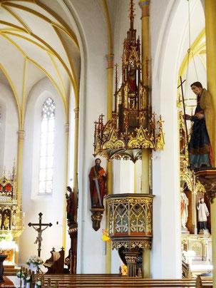 Kanzel St. Georg, Rottenburg a. d. Laaber
