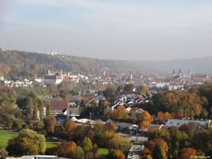 Blick auf Eichstätt vom Frauenberg