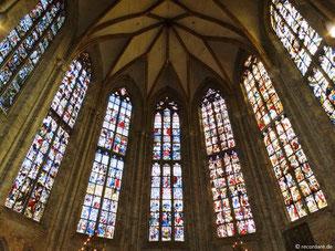 Chor-Glasfront Ulmer Münster