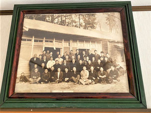 一関 真滝6民区 戦後に撮影されたと思われる集合写真