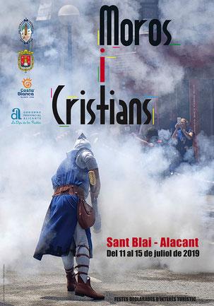 Moros y Cristianos de Sant Blai en Alicante