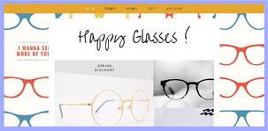 サイト例「メガネ」