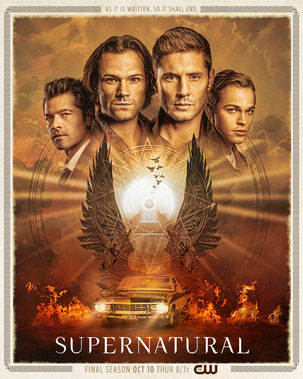NEW AFFICHE SUPERNATURAL SAISON 14. **