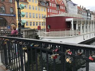 コペンハーゲンのニューハウンでも