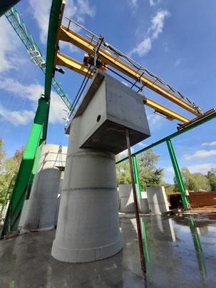 Avantages de postes de relevage en béton monobloc - Pajot Entreprise - Sud Ouest