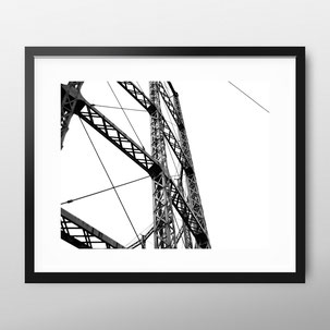 Photographic Art Print 'Gas Holder' by PASiNGA