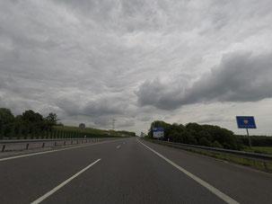 Die polnische Grenze habe ich schon erreicht :)