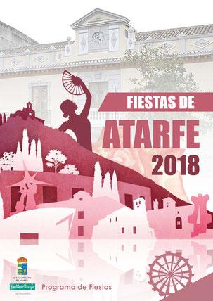 Portada Programa Fiestas Atarfe 2018