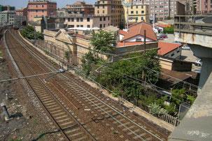 """""""Ex-casello ferroviario Genova-Sampierdarena"""""""