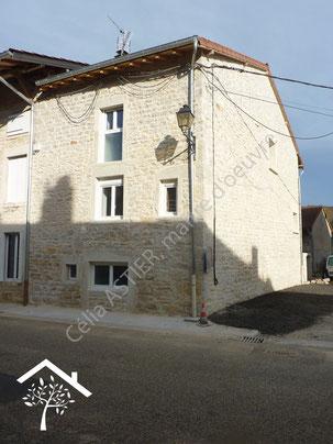 Rénovation d'une maison en pierre coté ouest, après travaux