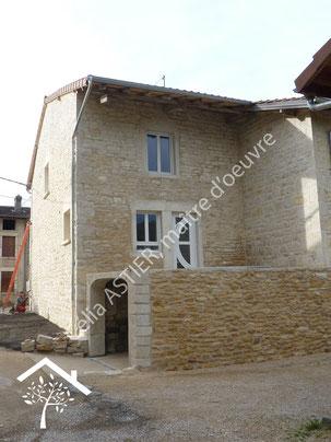 Rénovation d'une maison en pierre, après travaux
