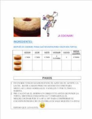 Proporciones en la cocina
