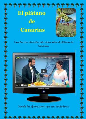 El plátano de Canarias