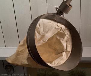 Zandbaggerbeugel, waarschijnlijk vervaardigd door Dirk Pel van Merkerk