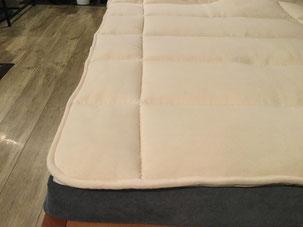 ビラベック羊毛ベッドパッド ボゥルフ