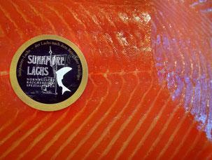 """Produktentwicklung:   Räucherlachs nach norwegischer Rezeptur """"Sunnmöre-Lachs"""""""