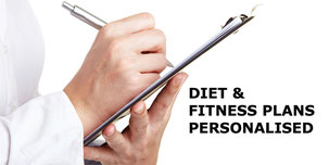 Personalised fitness and weight loss plans