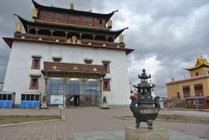 ガンダン寺の観音堂