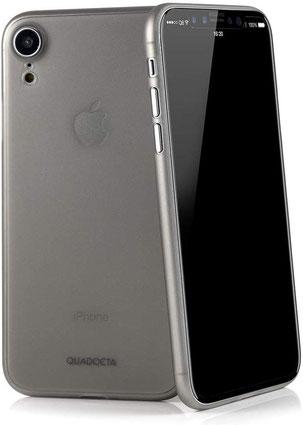 QUADOCTA Augusta iPhone XR Hülle in Grau