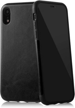 QUADOCTA Corium iPhone XR Hülle in Schwarz