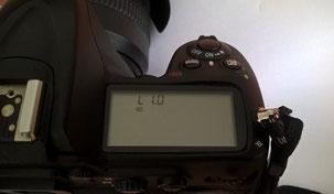 Niedrige ISO-Wert Einstellung am Fotoapparat Nikon D300