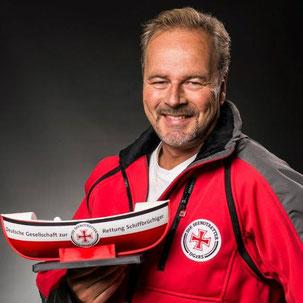 Bootschafter der Seenotretter  Foto: Steven Keller/DGzRS
