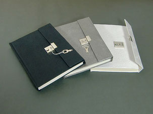 Tagebuch Baumwollpapier