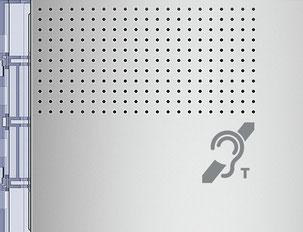 Solución de síntesis vocal para personas con discapacidades visuales. La función Teleloop para discapacidades auditivas