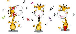 Girafes qui chantent