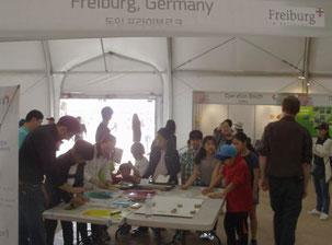 Bereich für Kinder zur Herstellung von Drucken