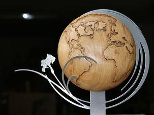 sculptures bois personnalisées, cadeaux, oeuvres d'art, particuliers et professionnels