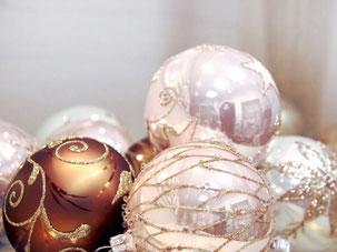 boules et décoration de noel à personnalser ; noel personnalisable