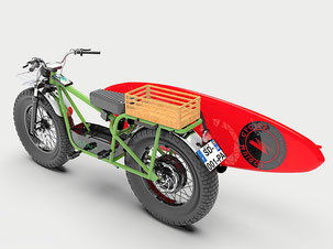 Personnalisez votre moto électrique