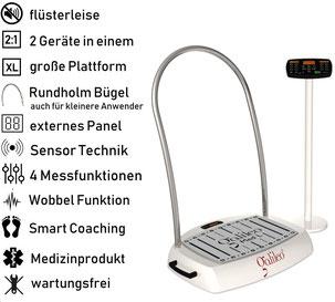 Vibrationsplatte Galileo Med L Sensor, Test, Vertrieb, Preis, Kosten, Preise: www.kaiserpower.com