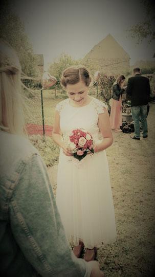 Brautkleid in Vintage-Style