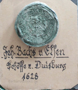 Duisburg Schöffensiegel von 1628