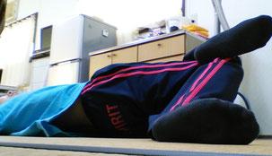 腹筋で腰が痛い奈良県御所市の女性