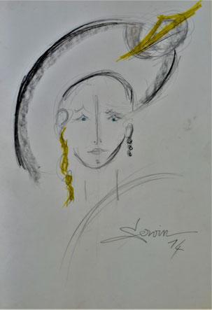 Décznniz 2010 Portrait (dessin)