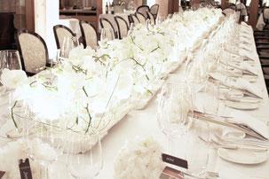 Tischdekoration Hochzeit Fotogalerie