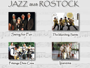 Jazzband aus Rostock jazz M-V swingmusik rumba latin music dixielandband marching brassband jens rosengarten