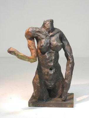 Figur 258, Bronze, 2015, 19x12,13,5cm