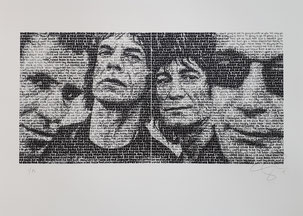 THE ROLLING STONES (2018) - EDITION: 80 (50 x 70 CM)