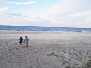 zwei die reisen in Florida