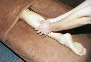 足つぼの刺激やリンパを流してむくみ解消
