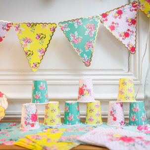 DECORATION ANNIVERSAIRE FILLE LIBERTY- LIBERTY GIRL PARTY DECORATION