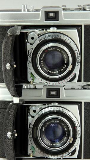 KODAK Retina Ib (Modellunterschiede)  © engel-art.ch