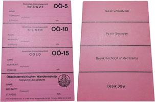 Stempelkarte Oberösterreich