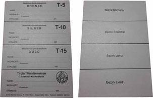 Stempelkarte Tirol